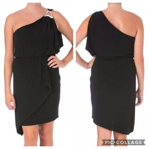 NWT Laundry By Shelli Segal One Shoulder Dress